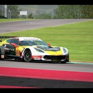 Automobilista test Night race Corvette @Imola onboard GoPro