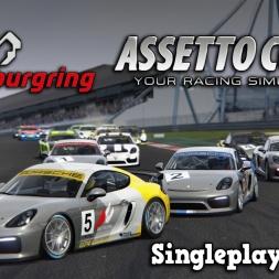 Assetto Corsa | Singleplayer | Porsche Cayman GT4 Clubsport @ Nordschleife VLN