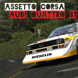 VR [Oculus Rift] Audi Quattro S1 - First Drive | Assetto Corsa Gameplay