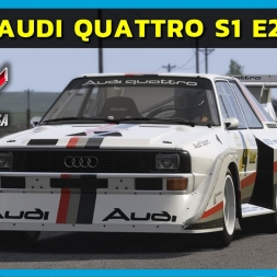 Assetto Corsa - Audi Quattro S1 E2 at Highlands (PT-BR)