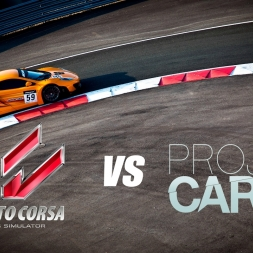 Assetto Corsa vs. Project Cars | McLaren MP4-12C GT3 @ Spa-Francorchamps | Gameplay Comparison