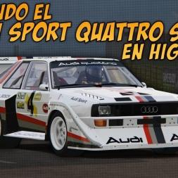 Probando el Audi Sport Quattro S1 E2 en Highlands Long | Assetto Corsa
