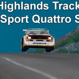 Assetto Corsa - Highlands track and Audi Sport Quattro S1 E2