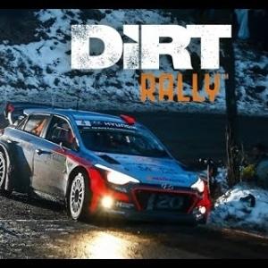 Dirt Rally - Hyundai i20 WRC - Suecia, Hamra [noche + nieve]
