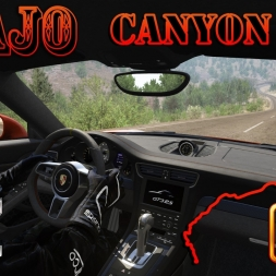 Assetto Corsa 4K * canyon fly at Tajo * Porsche 911 GT3 RS [onborad]