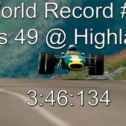 World Record #1 3:46:134 | Lotus 49 @ Highlands