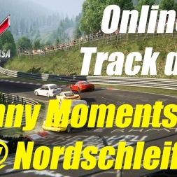 Assetto Corsa | Online Track Day @ Nordschleife | Funny Moments, Noob Mistakes Series #2