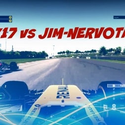 AliK17 vs JIM-NervoTank | How to Race Wheel-to-Wheel on F1 2016