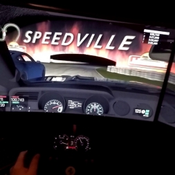 Project CARS Night race Ford Mustang GT onboard GoPro Road America