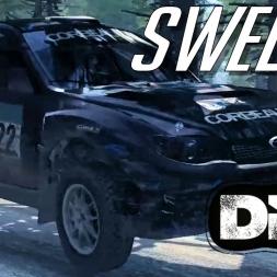 I think ABBA did it better - Subaru IMPREZA WRX R4 Rally of Sweden - Dirt Rally
