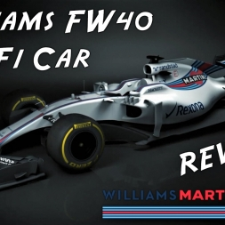 2017 Williams FW40 F1 Car Reveal - OFFICIAL Preview Renders