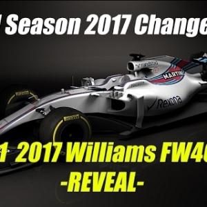F1 2017 Season Car Body Changes