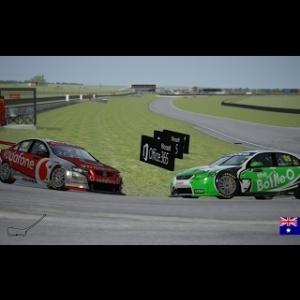 6ª Carrera Campeonato V8 Supercars en Symmons Plains Raceway Manga 1