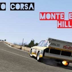 VR [Oculus Rift] Audi Quattro S1 E2 Monte Erice Hillclimb   Assetto Corsa Gameplay