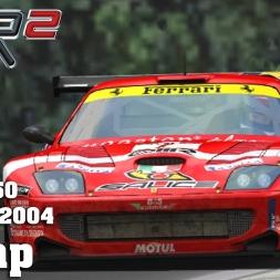 GTR2 | Hotlap | Ferrari 550 GTS | Imola GP 2004 [1:39.368]
