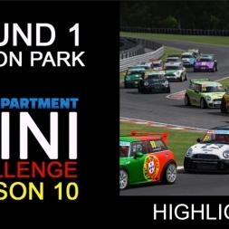 RD MINI Challenge  Round 1 Oulton Park International HIGHLIGHT REEL