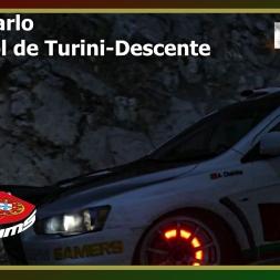 Dirt Rally - PTSims Rally Series 2017 - Rally Monte Carlo - SS01 Col de Turini - Descente