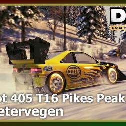 Dirt 3 - Peugeot 405 T16 Pikes Peak - Trail Blazer - Nordsetervegen