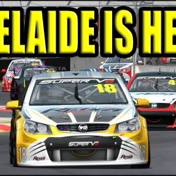 Adelaide v8 Supercars!