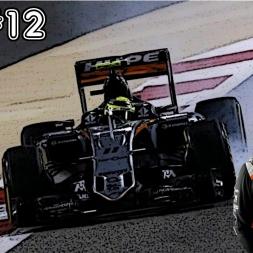 F1 2016 Career - S3R12: Belgium - Quadruple Overtake!!!!!!