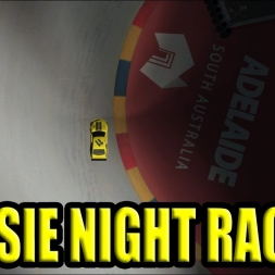 Aussie Racing Cars night race at Adelaide
