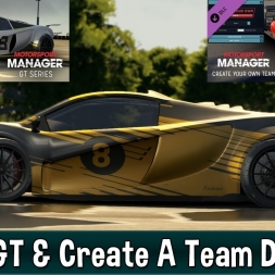 Motorsport Manager GT Cars & Create A Team DLC Impressions