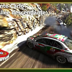 Dirt Rally - PTSims Rally Series 2017 - Rally Monte Carlo - SS08 Vallée descendante
