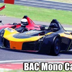 Assetto Corsa - BAC Mono Car mod - gbW Graphics mod ! Gameplay
