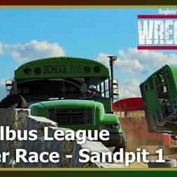 Wreckfest - Banger Race - Schoolbus League - Sandpit 1