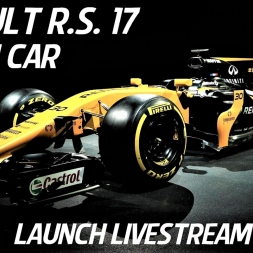 Renault Sport F1 Team R.S. 17 - 2017 F1 Car Launch Livestream - HD