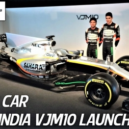 Force India F1 Team VJM10 - 2017 F1 Car Launch - HD