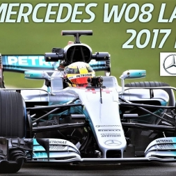 Mercedes AMG Petronas F1 Team W08 - 2017 F1 Car Launch - HD