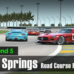 rFactor 2 - VRC Round 5 - Palm Springs - GT3 Series
