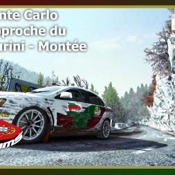 Dirt Rally - PTSims Rally Series 2017 - Rally Monte Carlo - SS11 Approche du Col de Turini - Montée