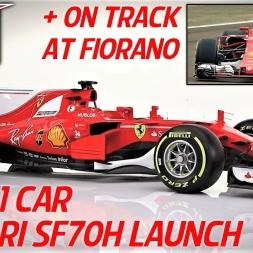 Scuderia Ferrari SF70H - 2017 F1 Car Launch and On Track - HD