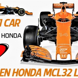 Mclaren Honda MCL32 - 2017 F1 Car Launch - HD