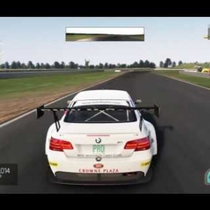 BMW M3 GT3 Hotlap @ Snetterton 300 No Assists (1:43:5)