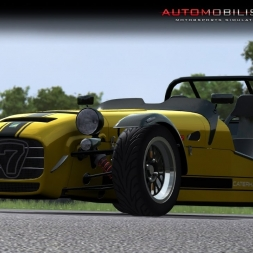 Automobilista Caterham Superlight sequential Cadwellpark with Racedepartment Race 1