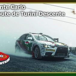 Dirt Rally - PTSims Rally Series 2017 - Rally Monte Carlo - SS14 Route de Turini