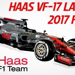 HAAS F1 Team VF-17 - 2017 F1 Car Launch - HD