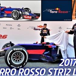 Scuderia Torro Rosso STR12 - 2017 F1 Car Launch - HD
