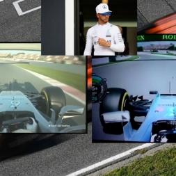 F1 2017 Test vs F1 2016 | Hamilton's Onboard @ Barcelona
