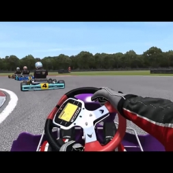Rfactor 2 Junior Karts -  Eventful 3 lap race with AI