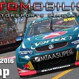 Automobilista | Hotlap | Super V8 | Adelaide 2016 [1:15.981]