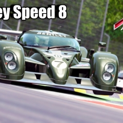 Assetto Corsa -  Bentley Speed 8 Car mod - gbW Graphics mod