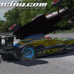 iRacing AOR Formula Renault 2 0 Championship onboard with commentary Round 24 - Road America