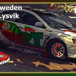 Dirt Rally - PTSims Rally Series 2017 - Rally Sweden - SS05 Lysvik