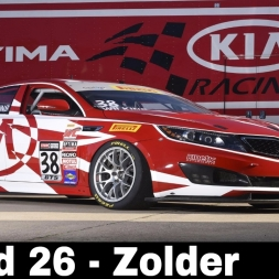 iRacing BSR Kia Cup Round 26 - Circuit Zolder