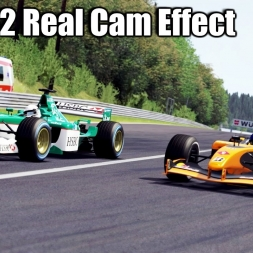 Assetto Corsa - F1 2002 mod Real Cam Effect - gbW Graphics mod