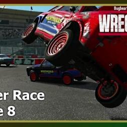 Wreckfest - Banger Race - Figure 8